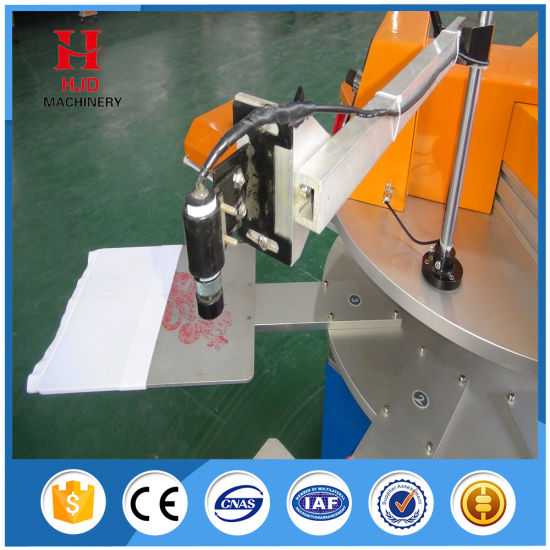 Rotary Label Printing Machine T′ Shirt Label Printing Machine pictures & photos