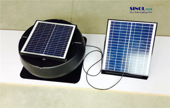 40W 9.6ah Storage Battery for Roof Mount Solar Powered Attic Fan - Sn2015024 pictures & photos