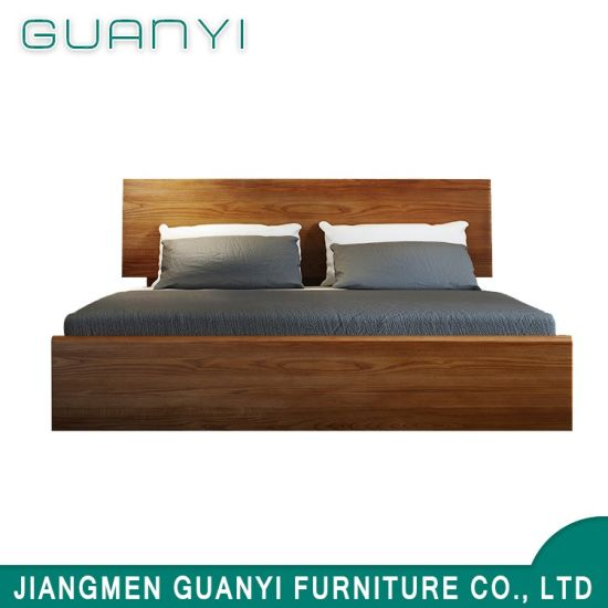 King Size American Wood New Style Modern Four Poster Bed Designs In