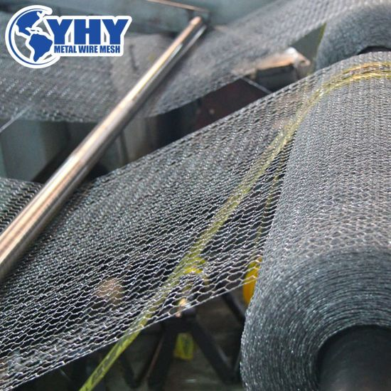 Hexagonal Wire Mesh with Flexibility Structure for Plaster