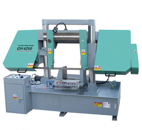 Horizontal Sawing Machine Gh4240 Double Column Metal Cutting Band Saw Machine pictures & photos