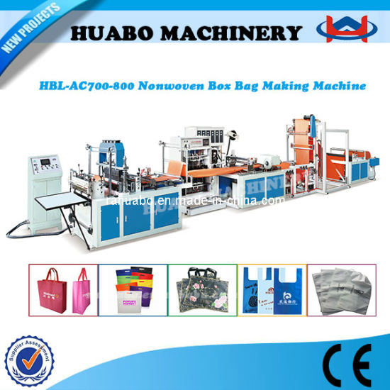 Non Woven Shopping Bag Making Machines