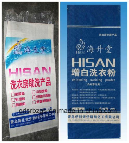 China Made New Material Washing Powder Plastic PP Woven Bag