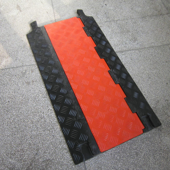 2channel 150mm Channel Rubber Driveway Hose Ramp Protector