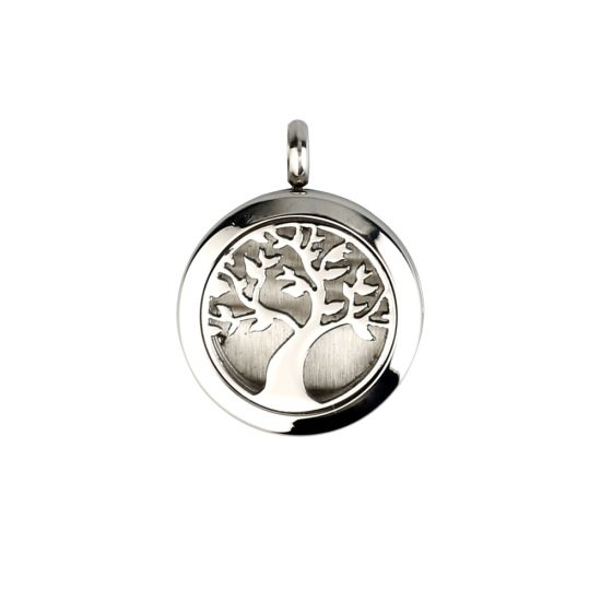 Essential Oil Tree of Life Locket Aromatherapy Diffuser Pendant Necklace pictures & photos