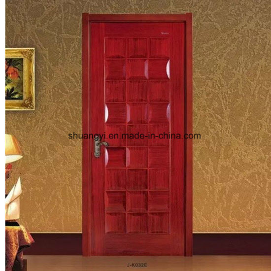 China Kuwait Exterior Door Fire Rated Wooden Door Design - China ...