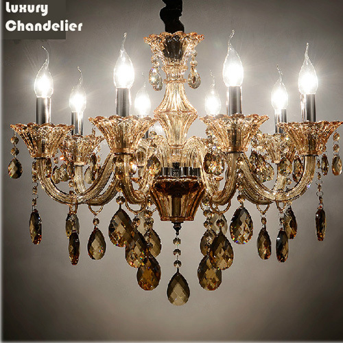 Dia66 CE Crystal Ceiling Chandelier with K9 Crystal