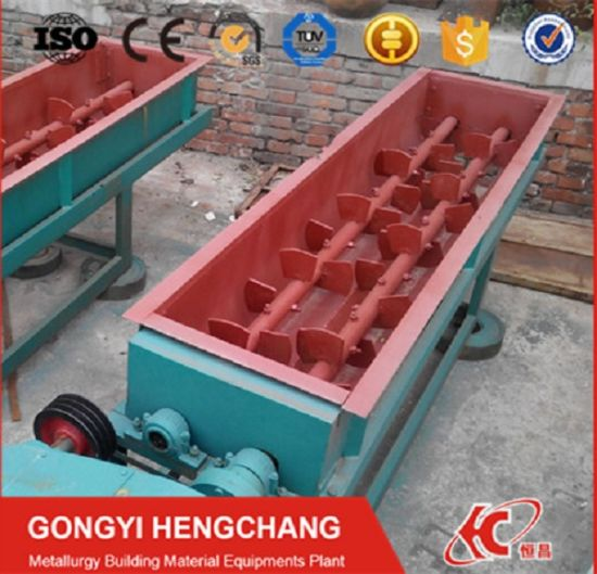 Clay Brick Making Machine Double Shaft Paddle Mixer pictures & photos