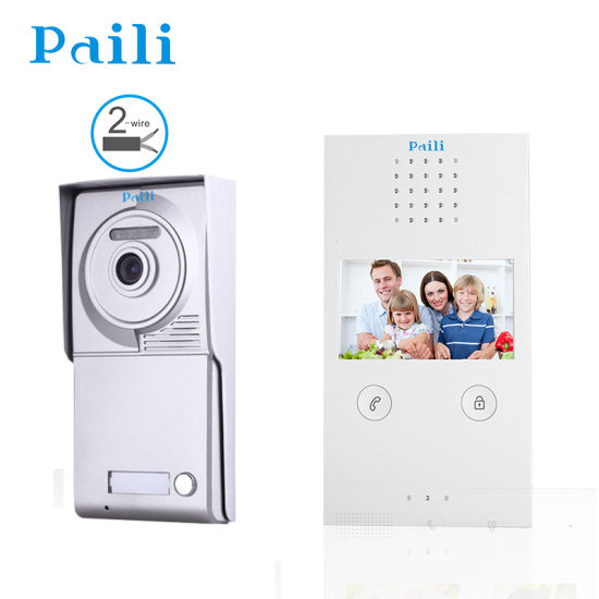 China Villa Video Door Phone WiFi Answer Your Door