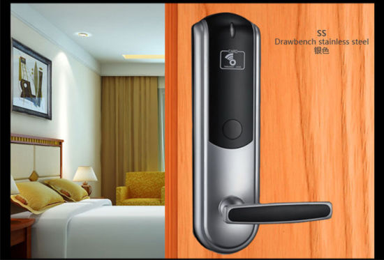 Hot Sale Prousb Software Hotel Lock RFID Digital Door Lock System pictures & photos