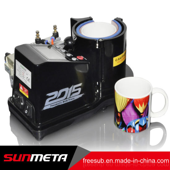 Freesub Pneumatic Sublimation Mug Heat Press Transfer Printing Machine (ST-110) pictures & photos