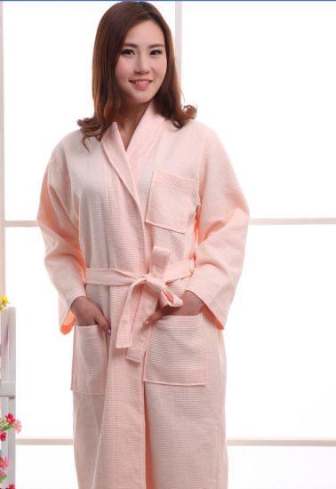f221707ca23 Promotional Hotel / Home Woman / Couple Cotton Waffle Bathrobes / Pajamas /  Nightwear / Bath