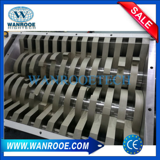 Double Shaft Wood / Timber / Wood Pallet Shredder Factory Price pictures & photos