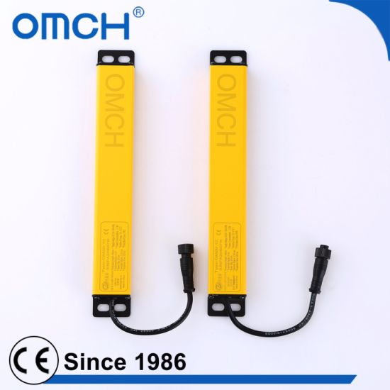 20mm Beam Space 380mm Protecting Height 1835mm Safety Light Curtains