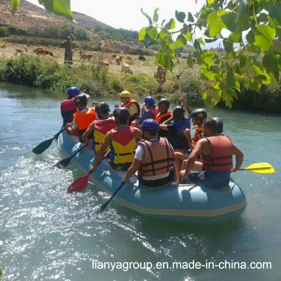 Liya 2 8-4 6m River Rafting Boat Inflatable Water Rafts for Sale