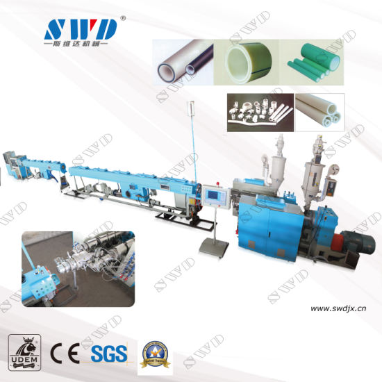 PPR Pipe Extrusion Machine/Plastic PVC/PP/HDPE/PE/PPR Pipe Extruder Machine/PVC Pipe Making Machine / Pipe Extrusion Production Line