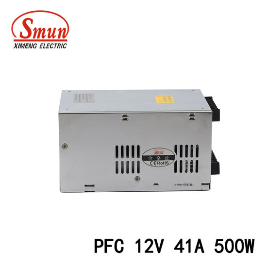 500W 12VDC 41A Pfc Function Switching Power Supply SMPS pictures & photos