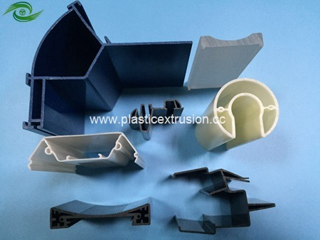 PVC ABS HIPS PC Plastic Extrusion Profiles for Retailing & Construction