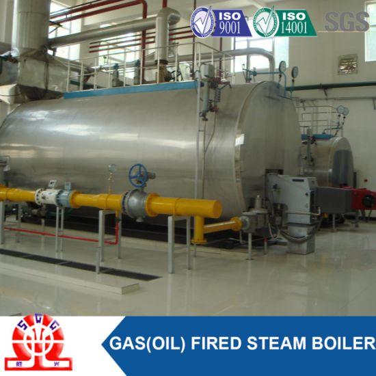 China 6000 Kg/H Easy Installed High Efficiency Light Oil Boiler ...