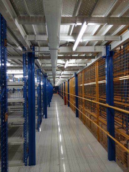 Heavy Duty Steel Structural Mezzanines pictures & photos