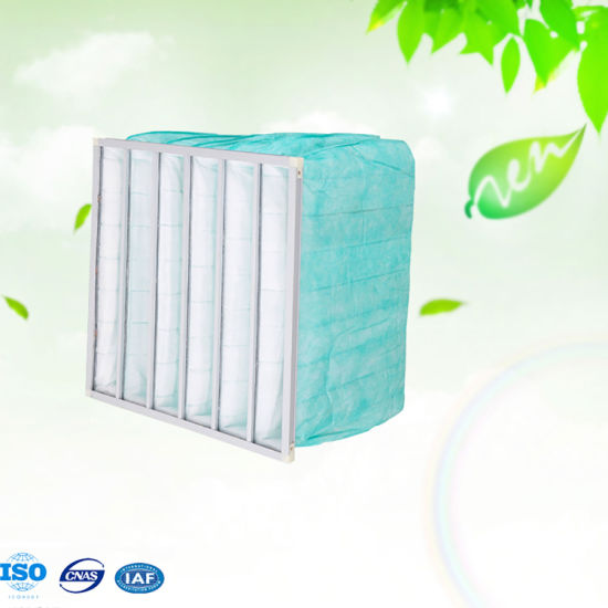 Industry Pocket F6 Fine Air Filter for Industrial Purifier