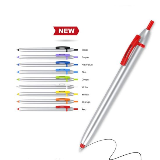 Multi-Color Custom Logo Business/Office Ball Pen pictures & photos