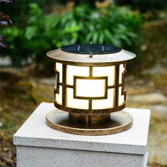 Landscape Lights For Solar Pillar Lamp Outdoor Garden Night Light