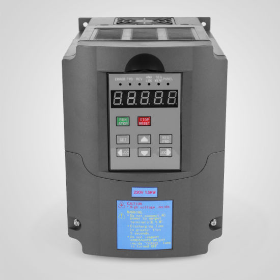 VARIABLE FREQUENCY DRIVE INVERTER VFD 1.5KW 2HP 7A SPEED CONTROL