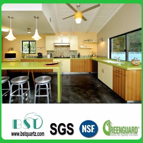 China Green Starlight Quartz Stone For Floor Tiles China Quartz