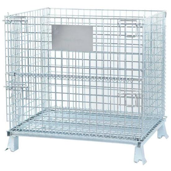 Equipment Steel Mesh Wire Container Storage Cage