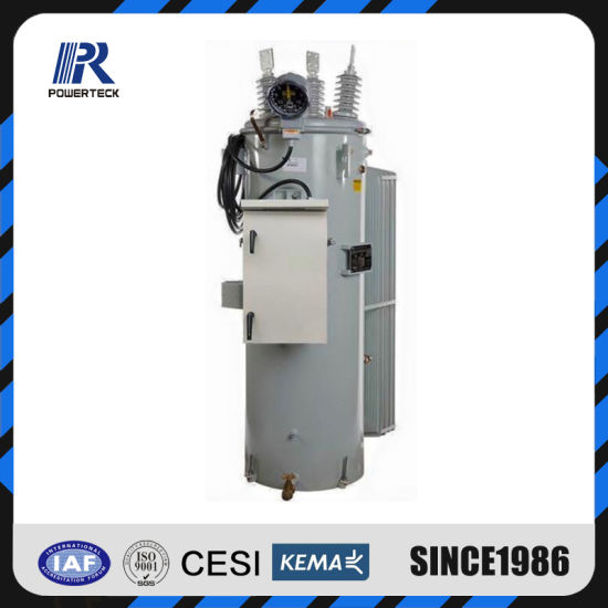 Single Phase Overhead Oil Immersed High Voltage Step Voltage Regulator
