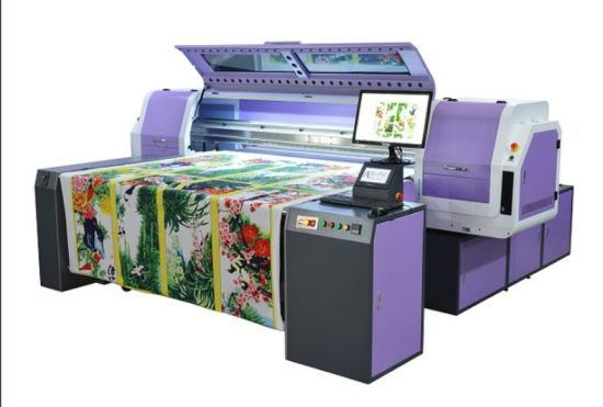 Fd1868 Industrial White Ink Printing Machine with Starfire1024