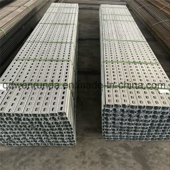 China Galvanized Slotted Channel Unistrut - China Unistrut Channel