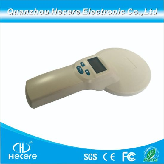 Long Range ISO 134.2kHz/125kHz ISO 11784 and 11785 RFID Animal Tag Reader