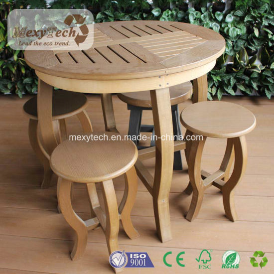 Garden Furniture 2017 PS Wood Dining Furniture Table and Chair pictures & photos