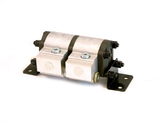 Grh Hydraulic Gear Motor Rotary Flow Divider for Hydraulic System pictures & photos