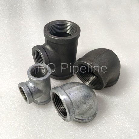 Class150 A197 Malleable Iron Black Fittings/Galvanized Pipe Fittings Manufacturer pictures & photos