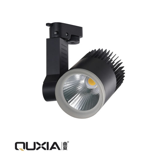 COB LED Adjustable 20W Track Lighting with Ce RoHS Certification 7/12/30/40/50W