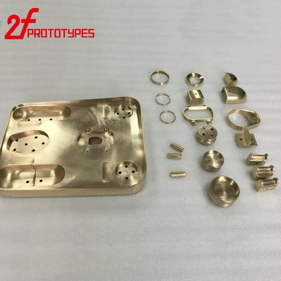 High Precision Brass Metal Prototypes CNC Parts