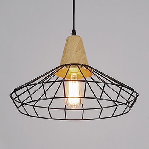 North Europe Lighting Chandelier with Wood