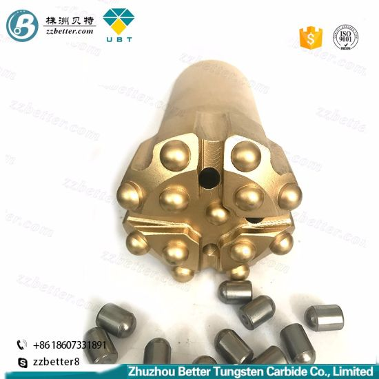 T45 Tapered Button Bits/Thread Button Bit/Drill Bits for All Types of Rock  and Concrete