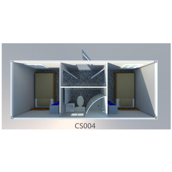 Granny Flats 2 Bedroom Light Steel Prefabricated Conteneur House Germany