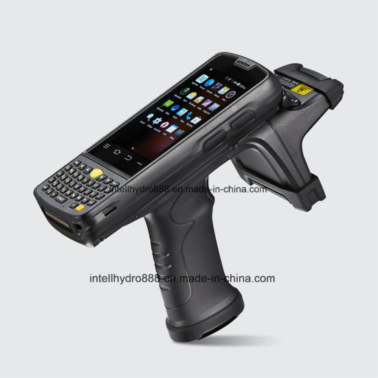 China UHF RFID 4G Barcode Scanner Android Fingerprint
