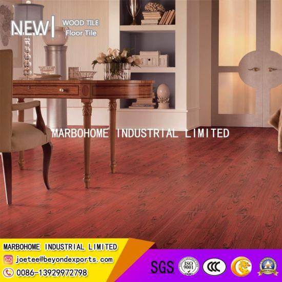 China 150900mm Red Porcelain Floor Tile Wood Plank Tile China