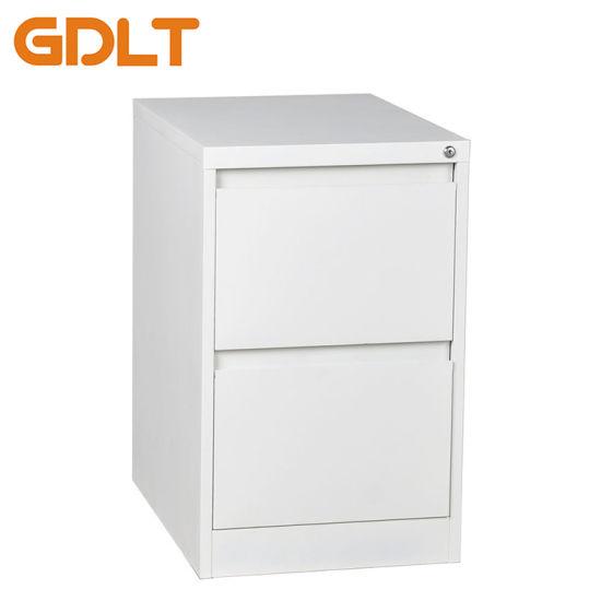 China Metal Office Furniture Godrej 2 Drawer Design Vertical Steel