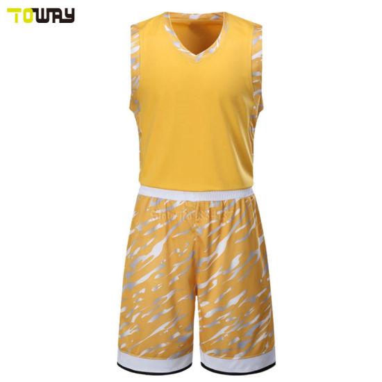 76766c08a36 China Custom Sublimation Basketball Team Uniform Couple Design ...