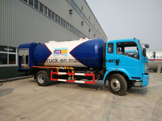 China 4000 Gallon Lpg Bobtail Tanker Truck Mobile Gas Station Truck China Vehicle Bobtail Truck