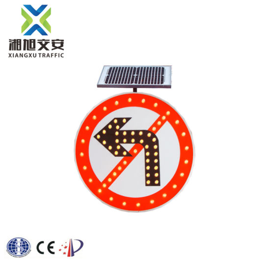 Direct From China Traffic Sign Weight Solar 3m Diamond Grade