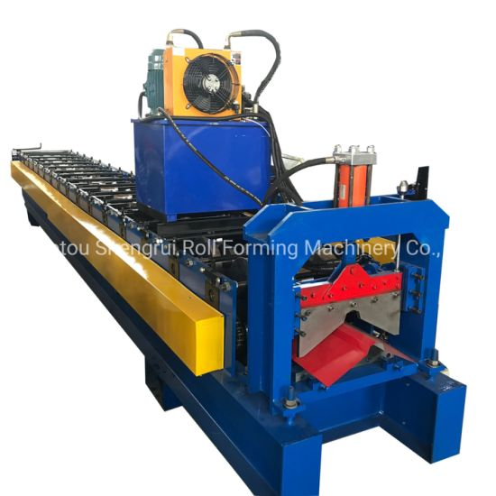 Gutter Roll Former/Gutter Forming Machine/Roll Forming Seamless Gutter Machine