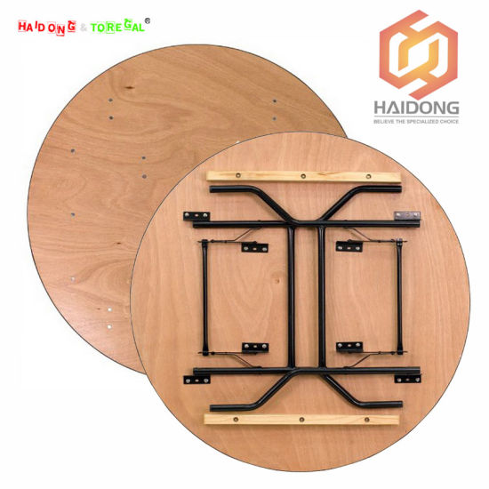 Outdoor Plywood Wood Folding Restaurant Wedding Chair Table Furniture